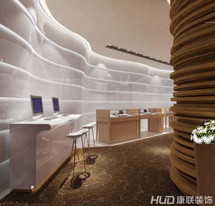 广州珠宝店店铺装修经典案例 -办公室装修 广州办公室装修 广州办公室