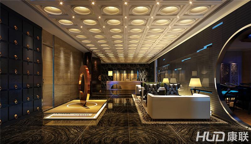 办公楼装修——大堂装修效果图-广田丰办公室装修设计案例
