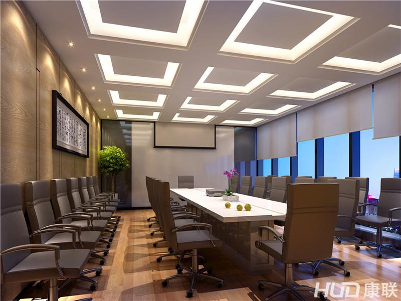 蓝狮办公室装修设计案例高清图片