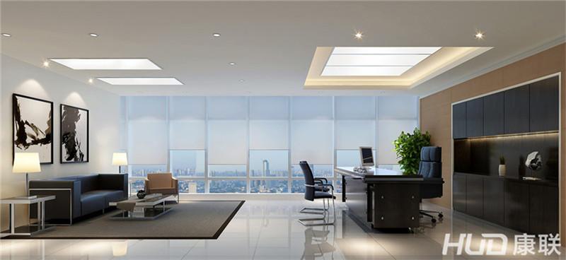 百世鑫公司办公室设计总经理室装修效果图