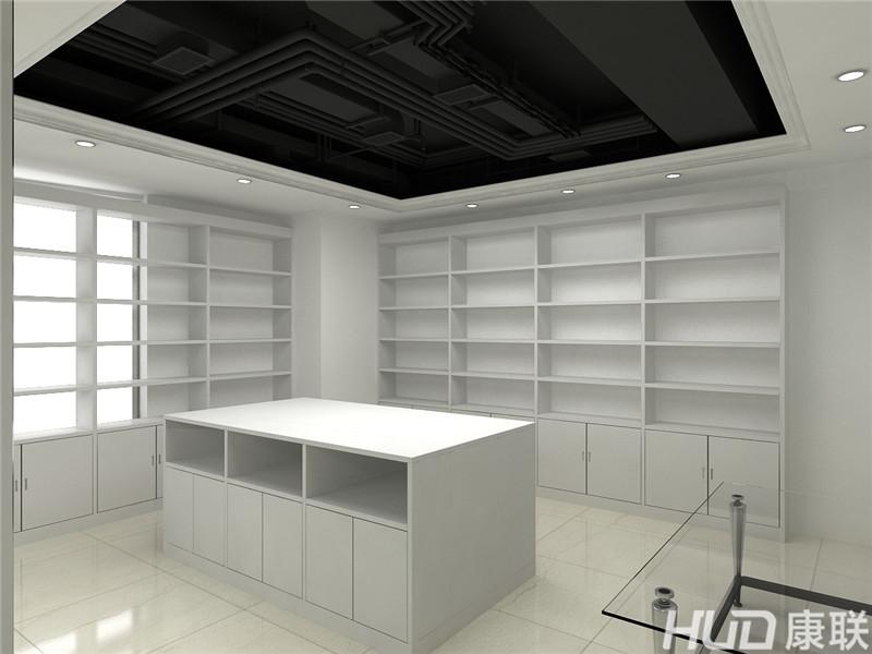 越秀城市广场办公室设计装修--展厅效果图