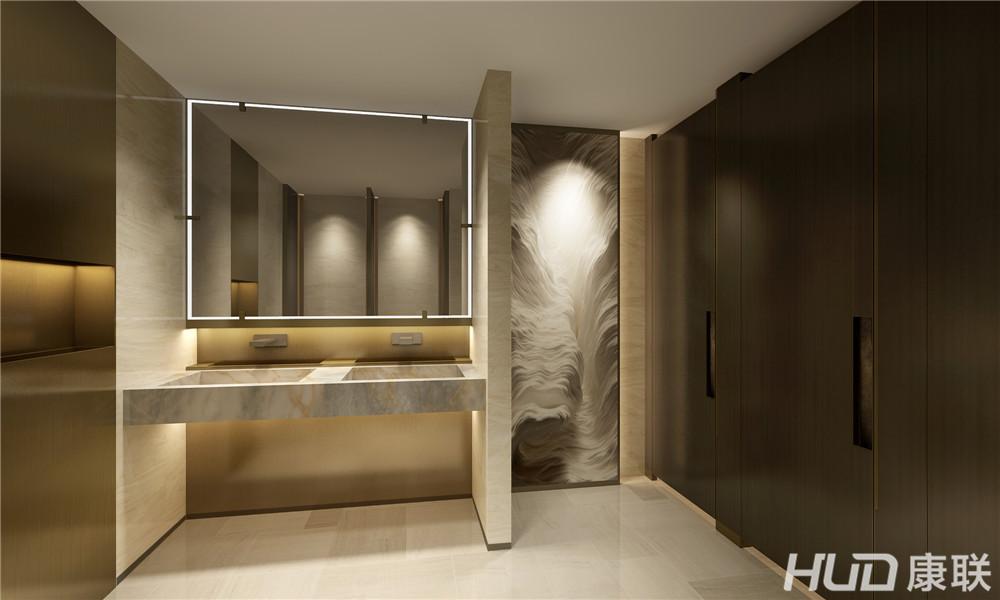 中星办公室设计卫生间效果图二