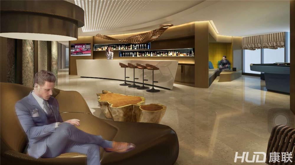 设计理念:中星信息公司办公室装修设计通过把时尚与休闲的风格相融合