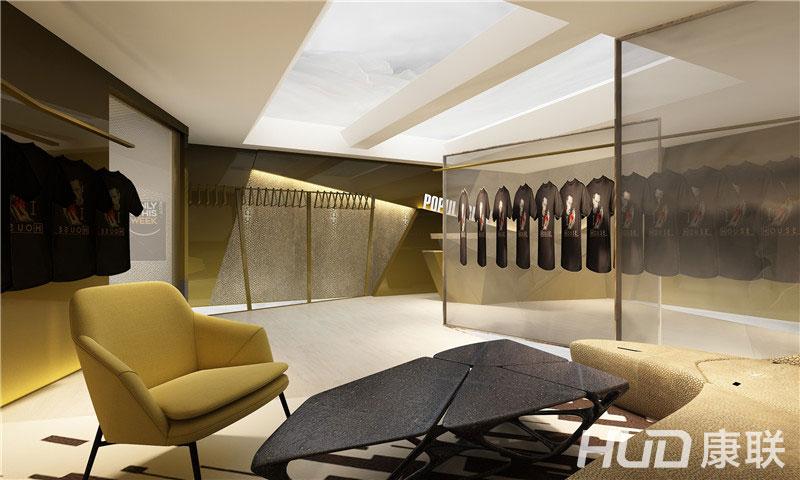 lp服装专卖店休息区设计效果图