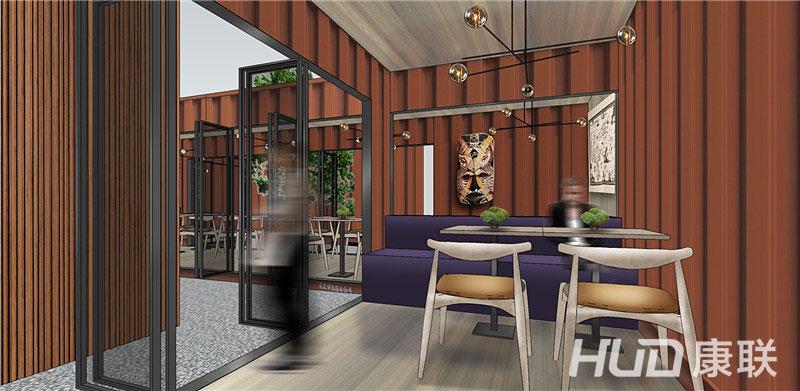 斐济餐厅设计包间设计效果图