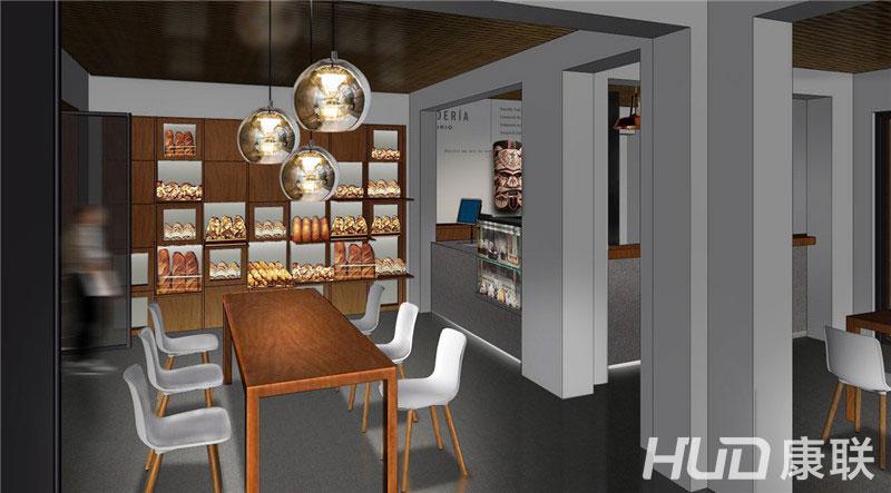 斐济餐厅吧台设计效果图
