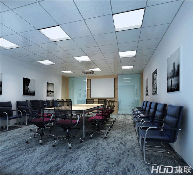 太平洋餐饮公司办公室装修会议室效果图