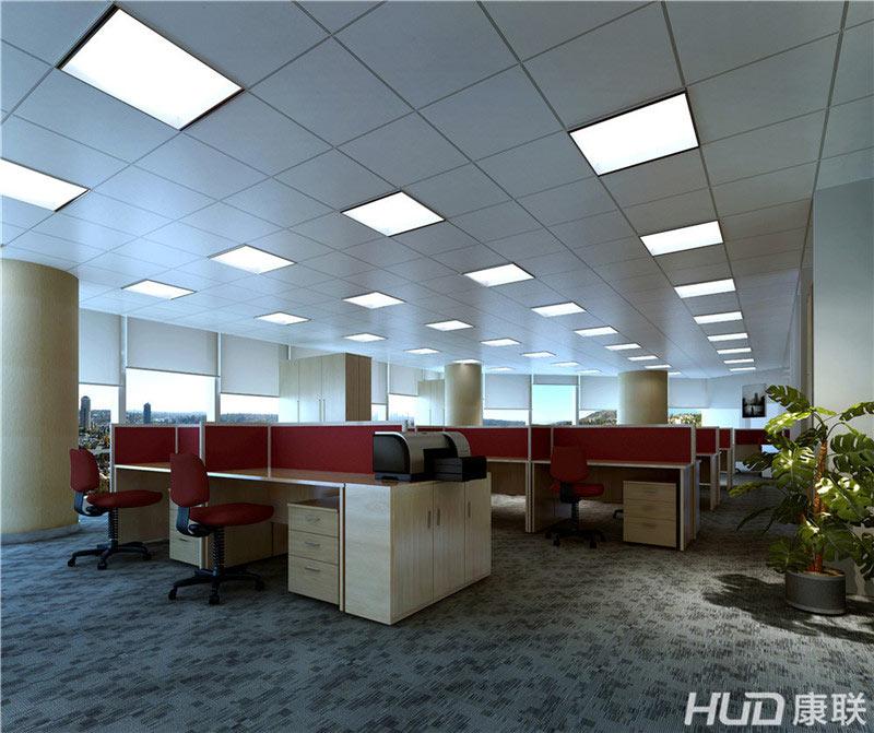 太平洋餐饮公司办公室装修办公区效果图