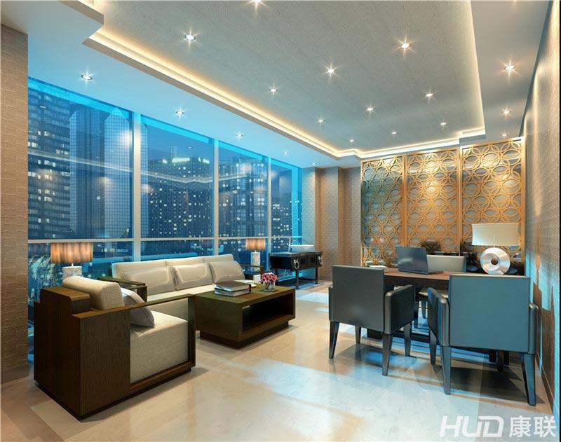 设计三层VIP诊室效果图-仁慈医院设计,体检中心设计装修,广州