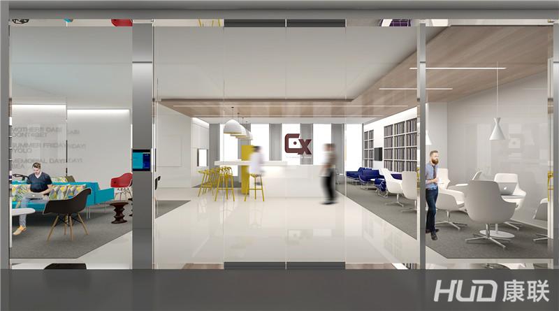 畅想办公室设计,游戏公司办公室装修