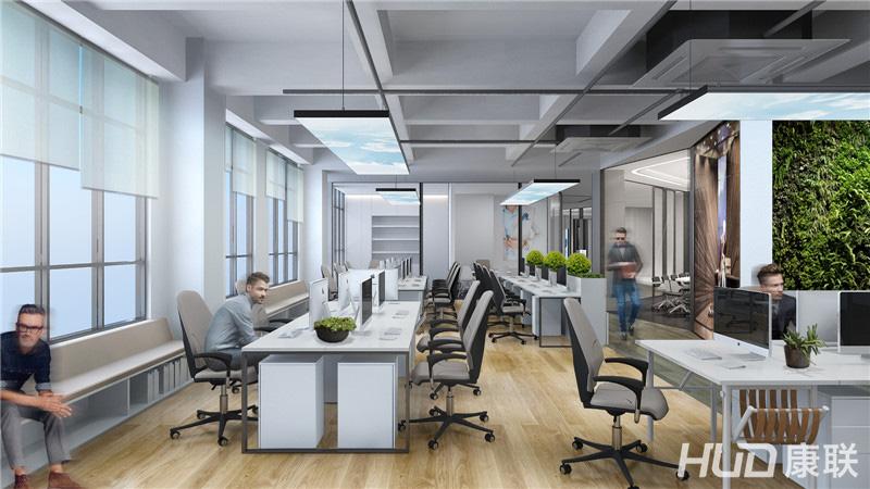 烽流服饰公司办公空间设计案例