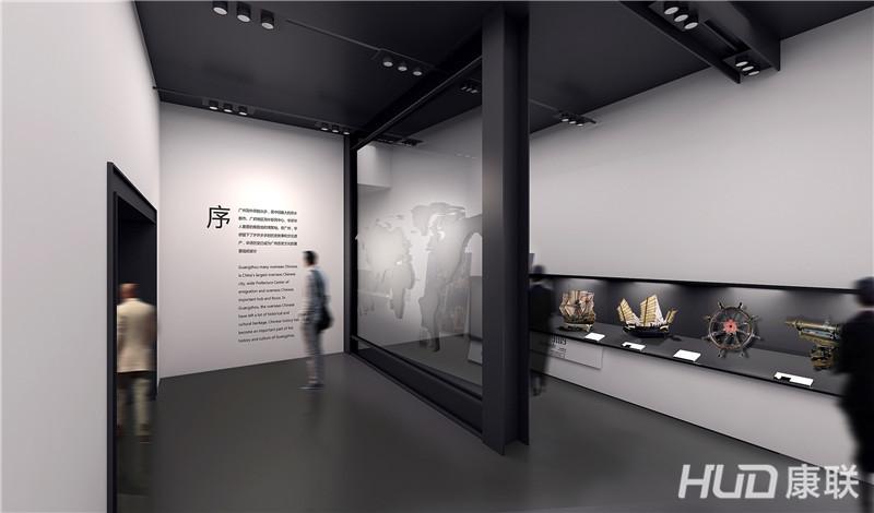 华侨博物馆设计序厅效果图